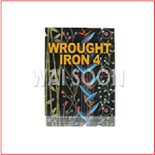 WS-1104 WROUGHT IRON BOOK 4
